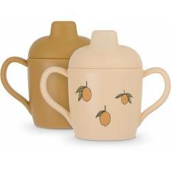 2 tasses à bec | Citron par Konges Slojd