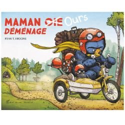 Maman ours déménage par Albin Michel couverture
