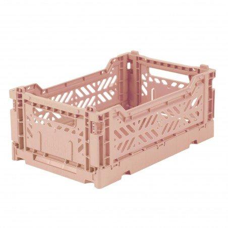 Caisse pliable couleur Rose - Mini