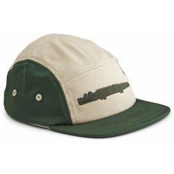 Casquette | Crocodile vert