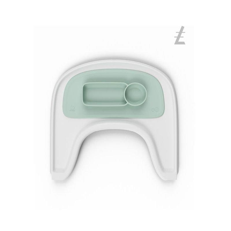 Set de table EZPZ   Menthe par Stokke sur tablette blanche