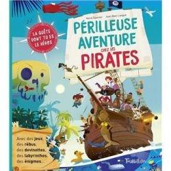 La périlleuse aventure chez les pirates par Tourbillon couverture