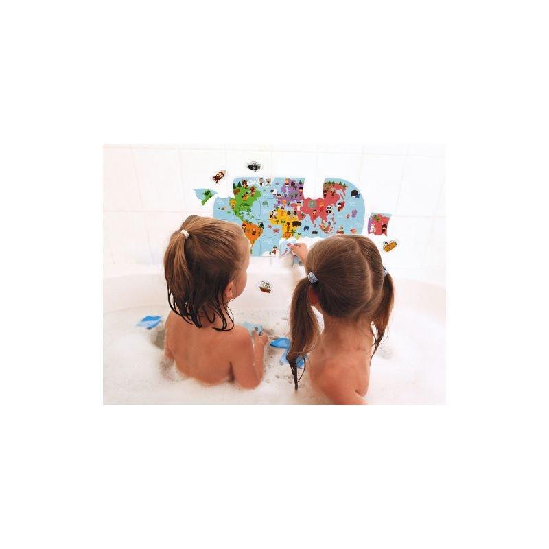 Carte des explorateurs du bain