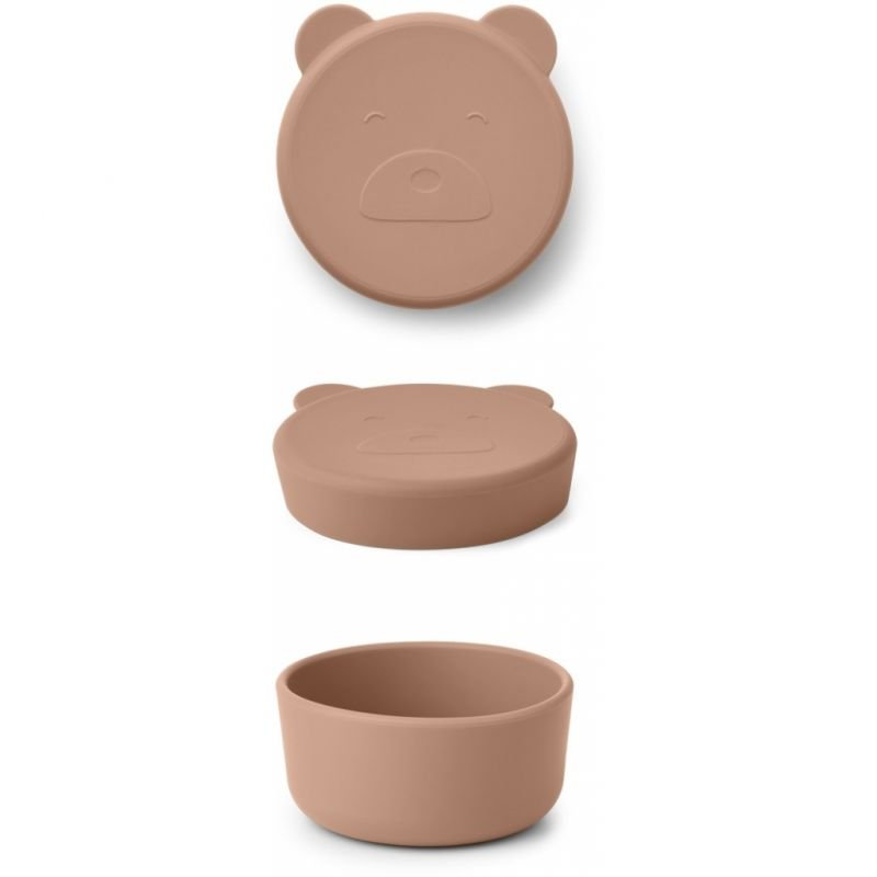 Boite Snack S | Ours Tuscany Rose