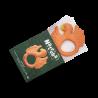 Anneau de dentition | Perroquet Orange par Natruba dans sa boite ouverte