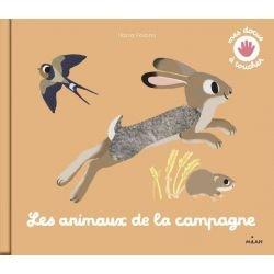 Mes docus à toucher | Les animaux de la campagne par Milan couverture