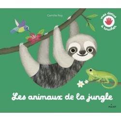 Mes docus à toucher | Les animaux de la jungle par Milan couverture