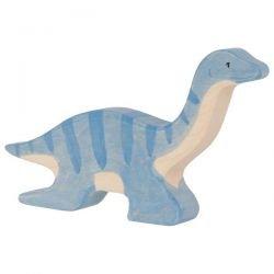 Plesiosaurus en bois