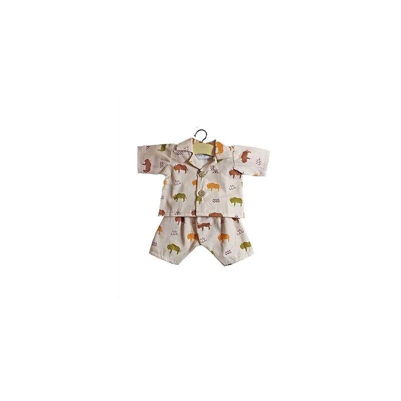 Pyjama pour poupée   Buffalo
