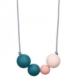 Collier Love actually Bleu pétrole par Minty Wendy