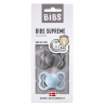 2 Tétines Bibs Supreme  Taille 1 | Fer et bleu - Bibs