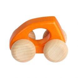 Voiture en bois | Orange