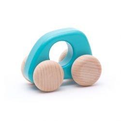 Voiture en bois | Bleu