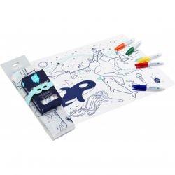 Set en silicone à colorier | Banquise