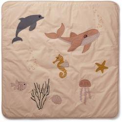 Tapis d'éveil | Créatures de la mer rose par Liewood