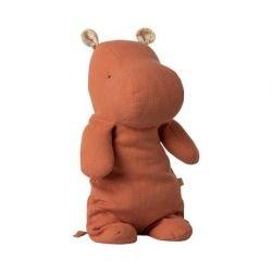 Doudou Hippo Médium | Corail