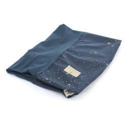 Housse matelas à langer | Bleu nuit étoiles