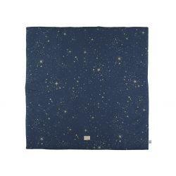 Tapis de sol | Bleu nuit étoiles