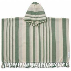Poncho Roomie   Vert par Liewood