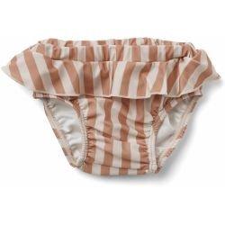 Culotte maillot de bain   Rose rayures par Liewood