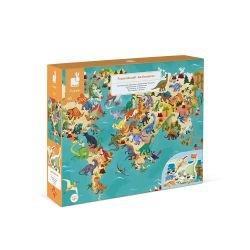 Puzzle éducatif géant 200 pièces | Dinosaures