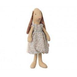 Petit lapin robe bleu par Maileg pour jouer et imaginer