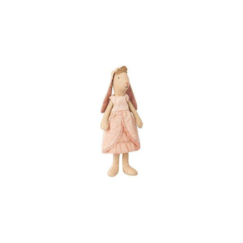 Petit lapin robe princesse rose par Maileg pour jouer et imaginer