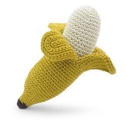Hochet en crochet | Banane