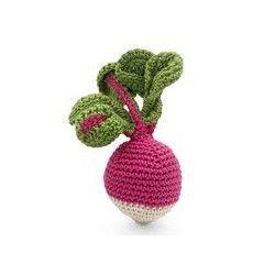 Hochet en crochet   Radis