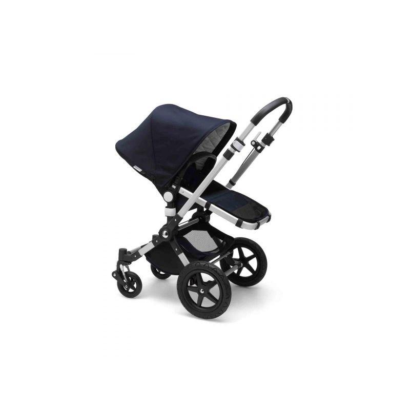 Poussette naissance et 2e âge Fox 2 | Bleu marine & Aluminium