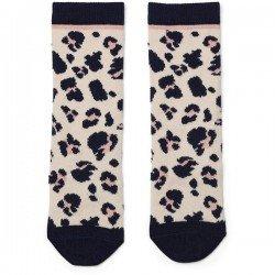 Paire de chaussettes Léopard par Liewood