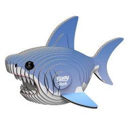 Puzzle 3D en carton | Requin