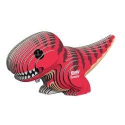 Puzzle 3D en carton | Tyrannosaure