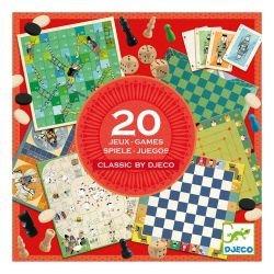 Coffret de 20 jeux classiques