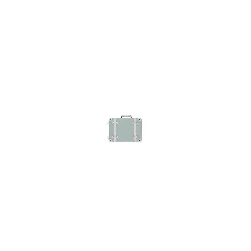 Valise à roulettes pour enfant couleur vert d'eau par Olliella