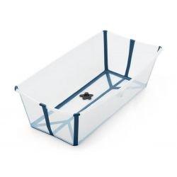Baignoire pliable Flexi Bath XL | Transparente et Bleue
