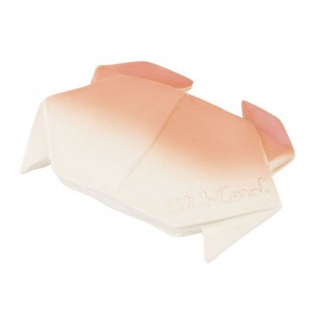 Crabe origami à mâchouiller par Oli and Carol