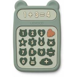 Calculatrice en silicone à mâchouiller Vert par Liewood