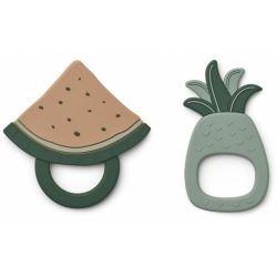 Fruits en silicone à mâchouiller Ananas vert par Liewood