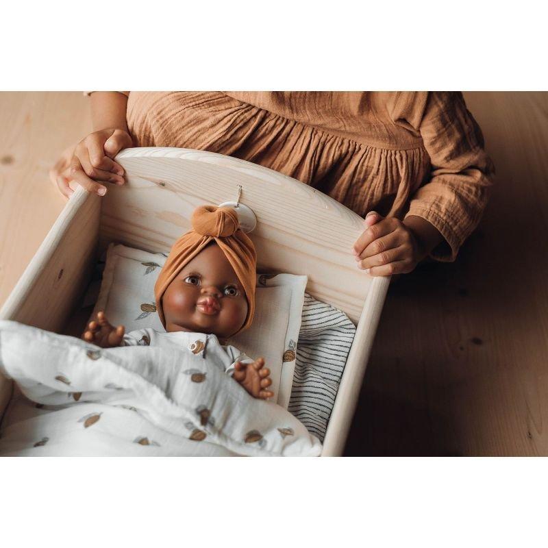 Parure de lit pour poupée   Tonka
