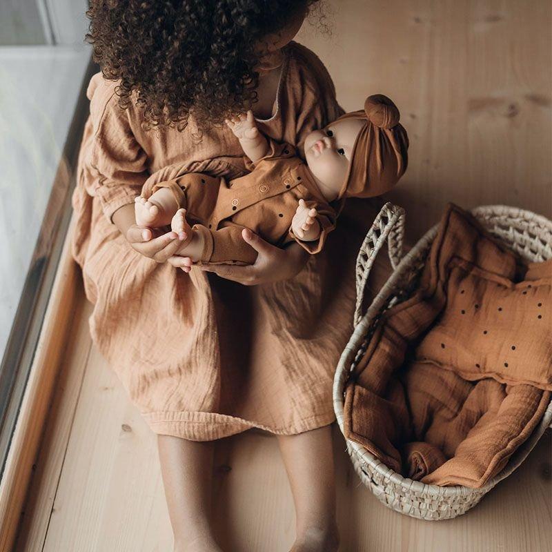Parure de lit pour poupée   Nut