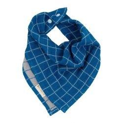 Bandana à carreaux   Bleu