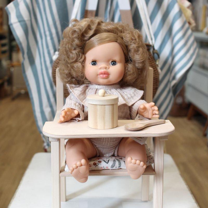 Chaise haute Blaise pour poupée | Nina