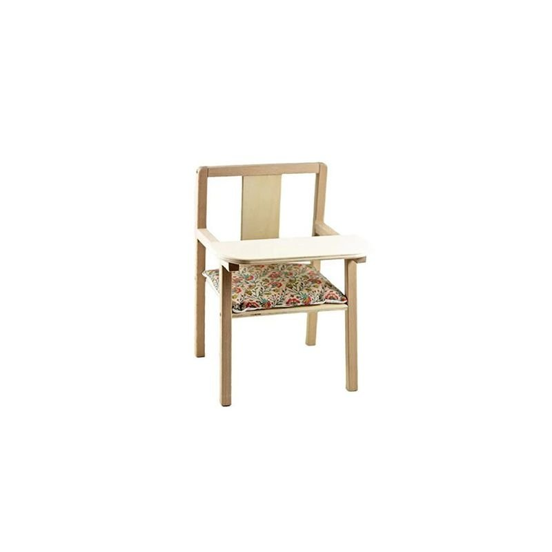 Chaise haute Blaise pour poupée   Fleurs en liane