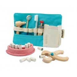 Trousse de dentiste en bois