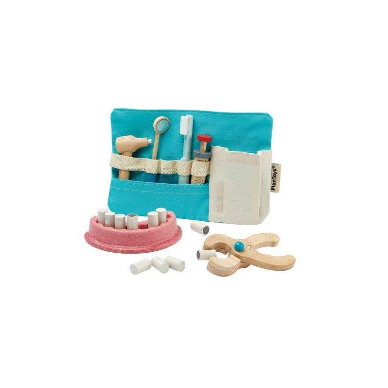 Trousse de dentiste en bois par Plan toys