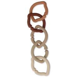 Pack de 5 anneaux citrons Rosie shades par Konges Slojd