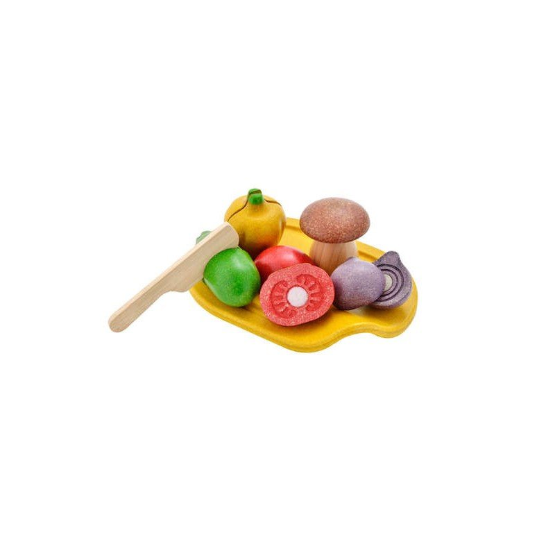 Assortiment de légumes par Plan toys