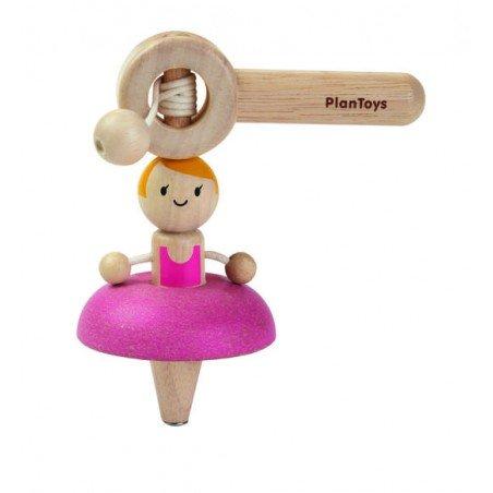 Toupie ballerine danseuse par Plan toys