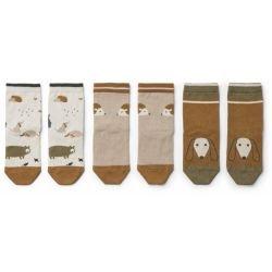 Pack de 3 paires de chaussettes vu du dessus